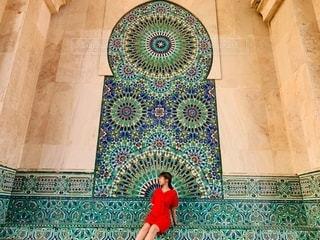 モロッカンタイルの写真・画像素材[3425308]