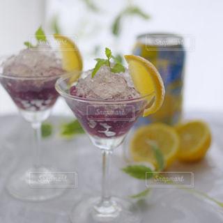 氷結レモンゼリーの写真・画像素材[1327420]