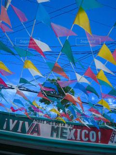 メキシコの空の写真・画像素材[1247496]