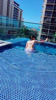プールの写真・画像素材[1096600]
