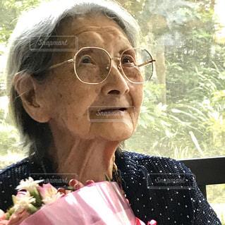 104歳お誕生日おめでとう‼︎の写真・画像素材[2848370]