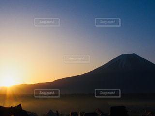 新年度最初のキャンプにての写真・画像素材[1144481]