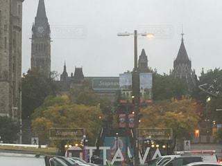 風景,秋,紅葉,都会,外国,旅行,カナダ,オタワ