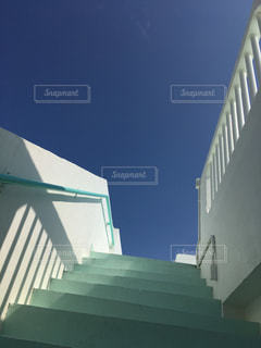 空への階段の写真・画像素材[1102155]