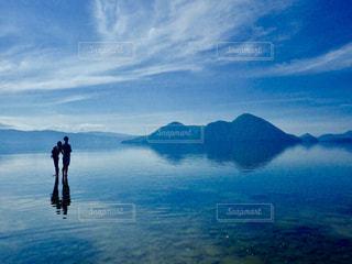 湖独占の写真・画像素材[1616013]