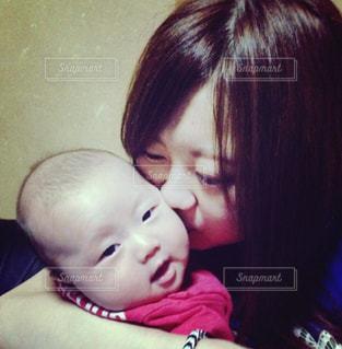 親子,子供,可愛い,母,ママ,お母さん,チュー