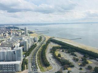 都会と海の写真・画像素材[1251042]