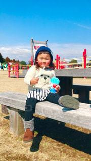 公園,子供,女の子,人物,人,遊び場,春コーデ