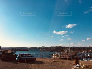 静かな港の写真・画像素材[1115664]