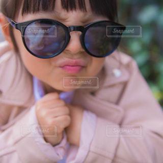 サングラスでキメ顔🕶の写真・画像素材[1261679]