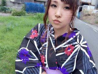 夏浴衣☆の写真・画像素材[1409216]