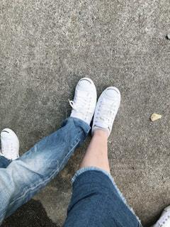 靴を履いている人の写真・画像素材[1800095]