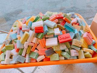芳香剤にもなる石鹸の写真・画像素材[2036944]
