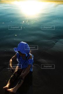 海で遊ぶの写真・画像素材[2142797]