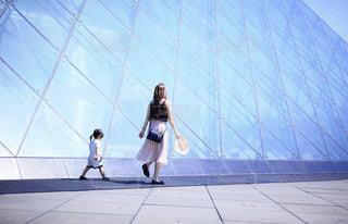 公園を歩くの写真・画像素材[2260047]