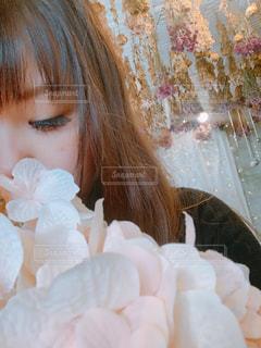 花と一緒に🌸の写真・画像素材[2269807]