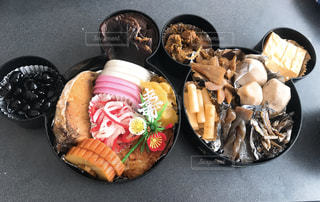 我が家のおせち料理の写真・画像素材[1729636]