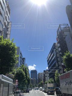 都市の高層ビルの写真・画像素材[1313947]