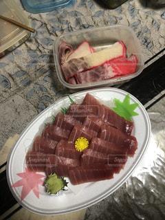 マグロ  刺し身,食事 朝食 昼食 夕食 料理 海産物