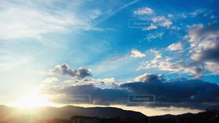 絵に描いたようなお天気の写真・画像素材[1108799]