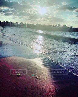振り返る海の写真・画像素材[2329958]