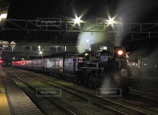 鋼鉄の機関車SLの写真・画像素材[1680530]