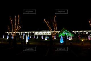 地元初めてのお駅なクリスマスイベント。の写真・画像素材[1680561]