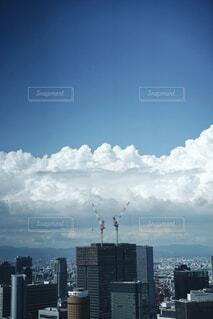 夏雲の写真・画像素材[4607795]