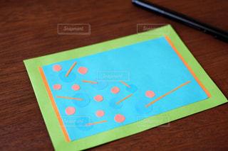 ハンドメイド ドット カードの写真・画像素材[1115970]
