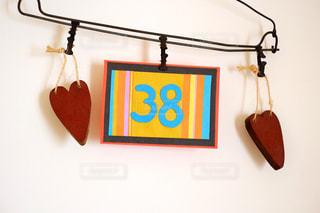インテリア,かわいい,ハート,ハンガー,誕生日,数字,ポップ,アニバーサリー,吊るす,38
