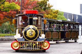 公園ないの汽車バスの写真・画像素材[1613659]
