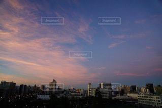 早朝の空の写真・画像素材[2423619]