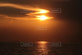 夕雲の演出の写真・画像素材[2426186]