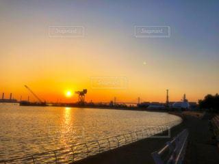 朝の海の写真・画像素材[1221713]