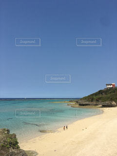 砂浜のビーチの写真・画像素材[1122721]