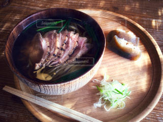 鴨蕎麦の写真・画像素材[1463598]