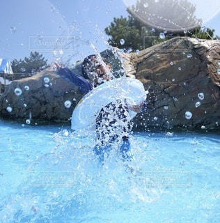 プールの写真・画像素材[3552494]