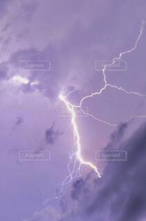 雷光の写真・画像素材[4561638]