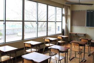 高校の教室。の写真・画像素材[1154529]