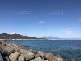 富士山と海の写真・画像素材[1119932]
