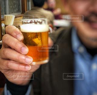 笑顔,ビール,美味しい,都内,好物,居酒屋さん,旨い!