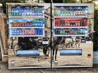 遊園地内🎡自動販売機の写真・画像素材[1218097]