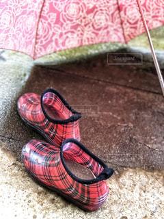 雨,傘,屋外,チェック,長靴,梅雨,6月,レインシューズ,カサ,梅雨をふき飛ばそう♬,6月6日