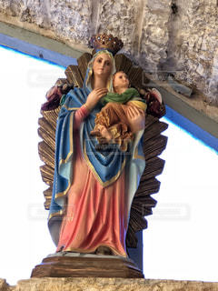 聖地のマリアさまの写真・画像素材[1227948]