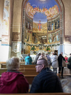 教会にての写真・画像素材[1227982]