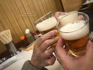 ビールで乾杯🍻の写真・画像素材[1245881]
