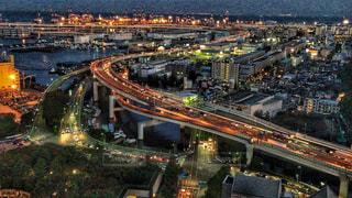 都市の夜の写真・画像素材[1393992]