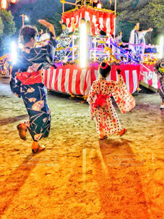 盆踊りの写真・画像素材[1411922]