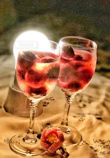 飲み物,ピンク,ライト,光,グラス,アイス,テーブルクロス,カクテル,あかり,まるい
