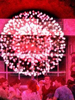 花火大会の夜の写真・画像素材[1434117]